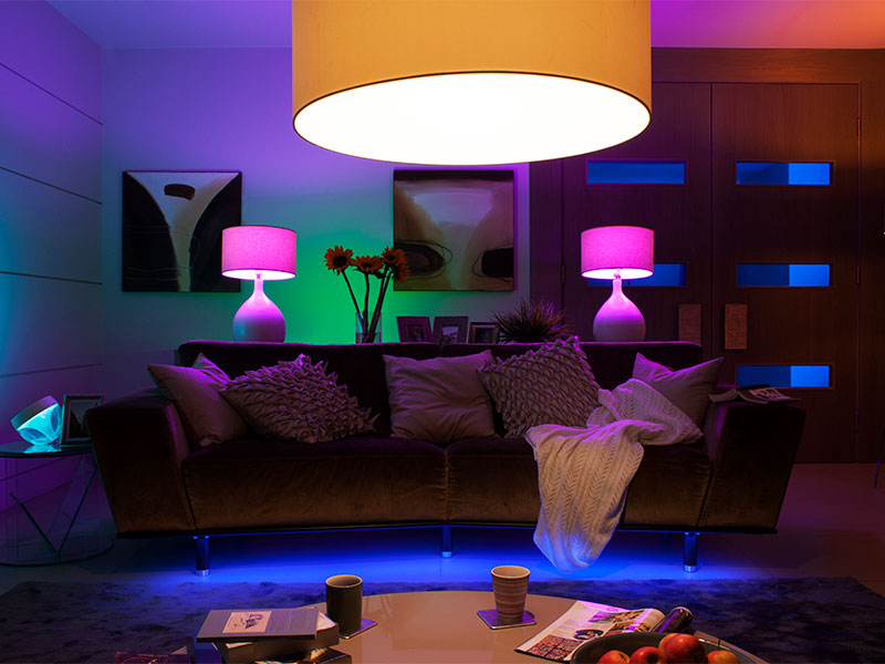 Philips-Lighting, smart lighting, connected home, smart home, automated